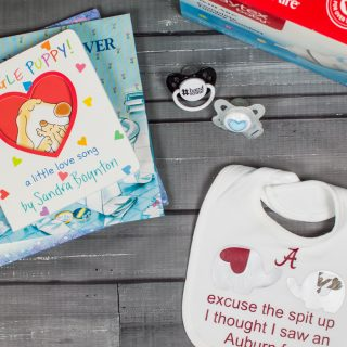 New Dad Gift Basket & Football Bib Silhouette File