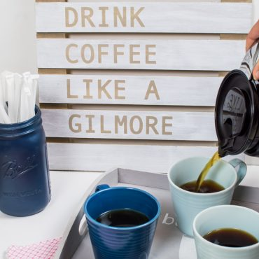 How to Make a Gilmore Girls Coffee Sign