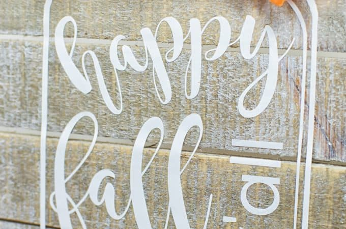 How To Make a Rustic Inspired Mason Jar Sign
