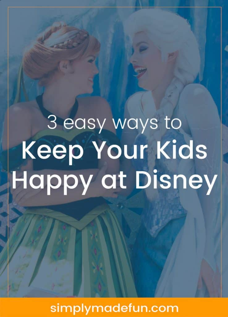 Keep your kids happy at Disney with three easy-to-follow tips from a new mom who is learning how to navigate Disney World with a toddler! #MagicalFamilyFirsts [ad]