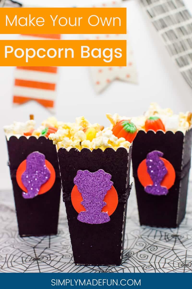 Halloween Crafts | Hocus Pocus | Popcorn Bags | Halloween DIY