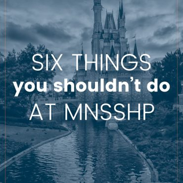 Six Tips for What Not To Do at MNSSHP