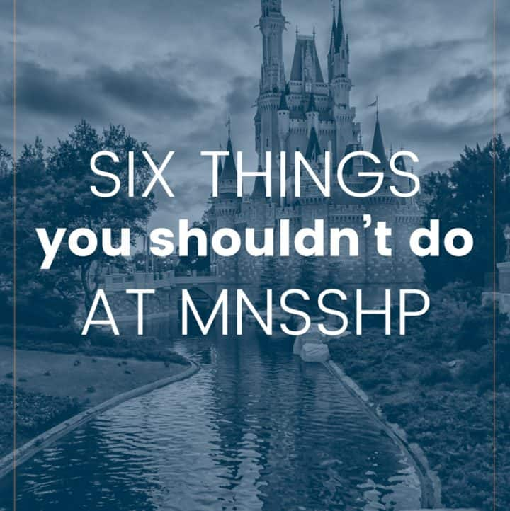 Heading to Disney for Mickey's Not So Scary Halloween Party? Check out this what not to do at MNSSHP guide and plan your trip BEFORE you go!