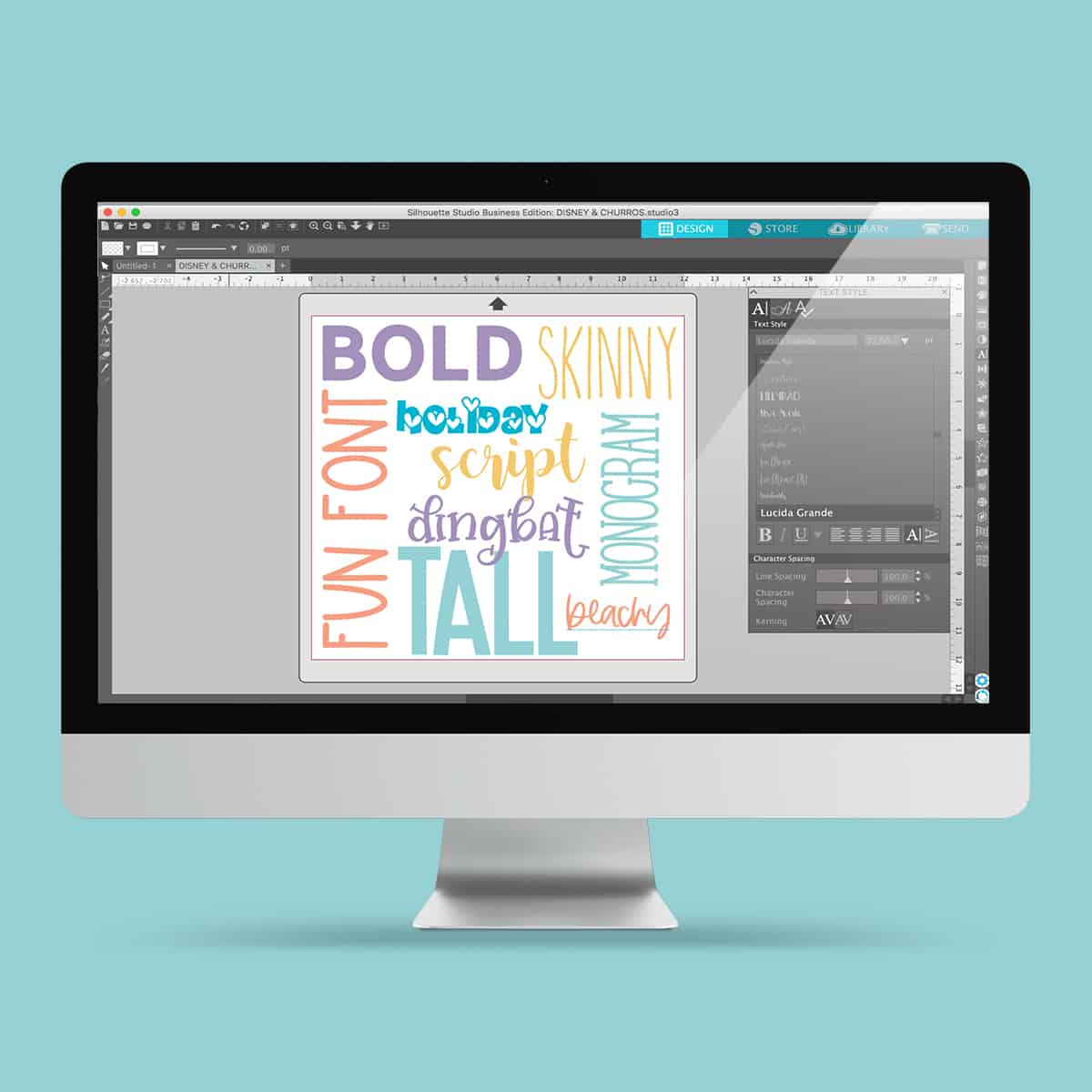 How to Choose the Best Fonts for Silhouette Projects