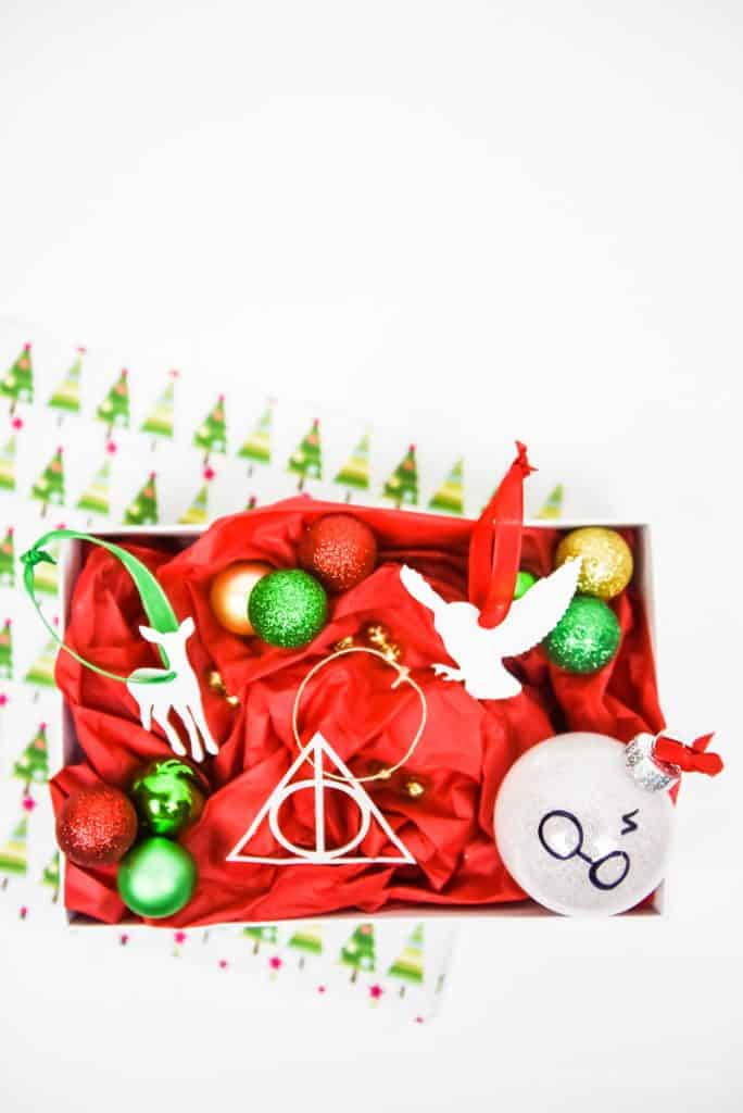 Harry Potter Crafts | Christmas Crafts | Christmas Ideas | Harry Potter DIY | Christmas Ornaments | Paper Harry Potter Ornaments