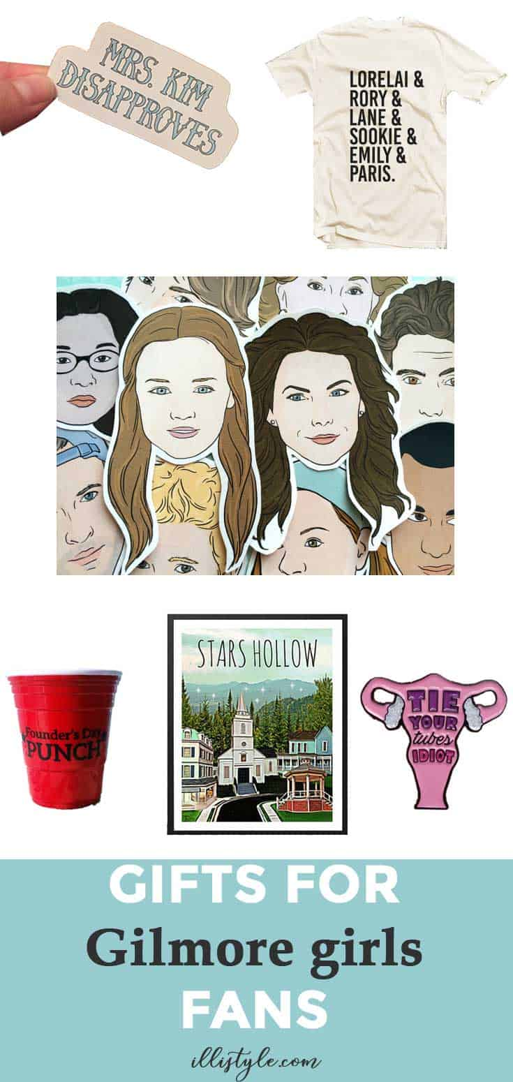 Gilmore Girls | Silhouette Cameo Crafts | Silhouette Cameo | Heat Transfer Vinyl