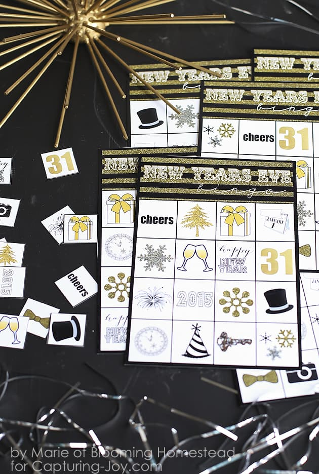 New Years Eve Crafts | New Years Eve | New Years Crafts | New Years Eve DIY | New Years Eve Party Ideas |New Years Eve Party Roundup