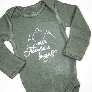 Newborn Coming Home Hospital Onesie