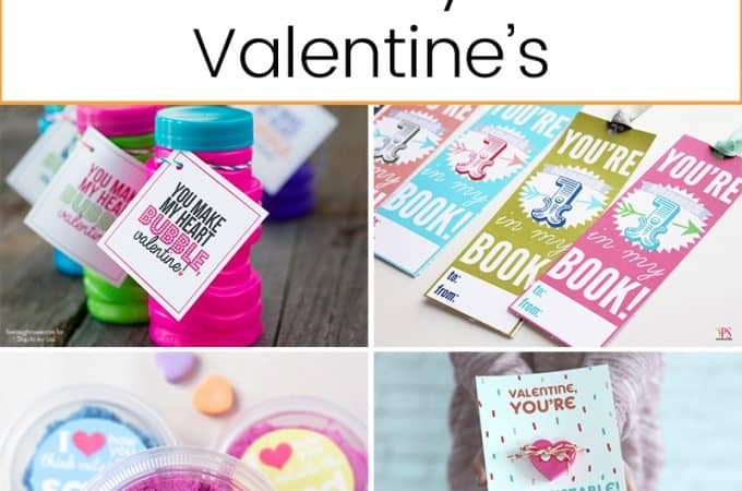 Non-Candy Valentines   Valentine's Day   Crafts   DIY  Valentine's Day Crafts   Kids Crafts   Holiday Crafts   Holiday DIY   Candy-Free