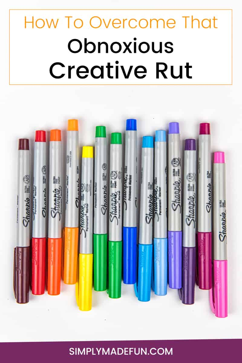 Obnoxious Creative Rut | Creative | DIY | How-to Crafts | Create | Silhouette Cameo | Paper Crafts | Vinyl Crafts | Do-It-Yourself | Creativity