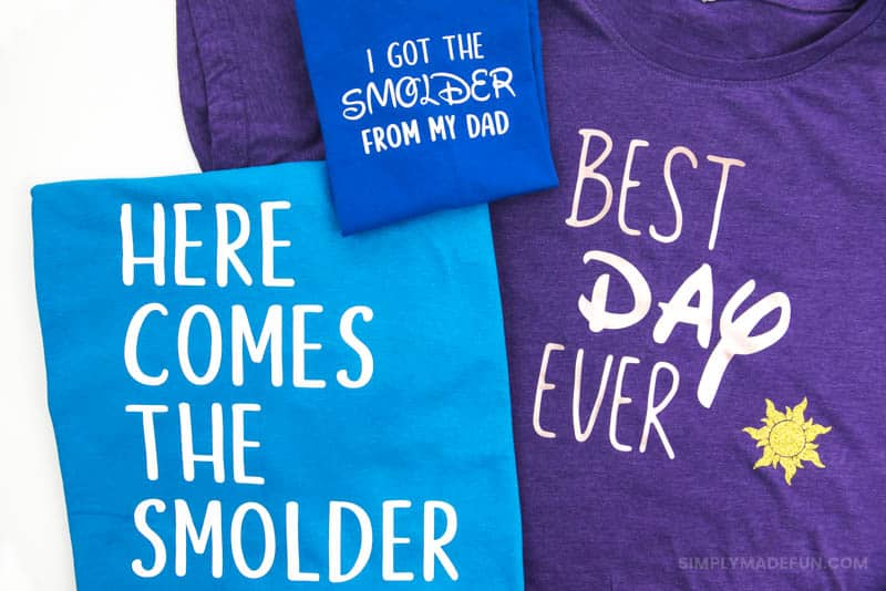 16 Disney Shirts To Make With Your Silhouette Simply Made Fun