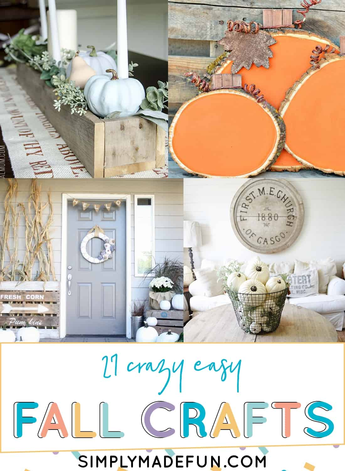 Easy Fall Crafts to Try