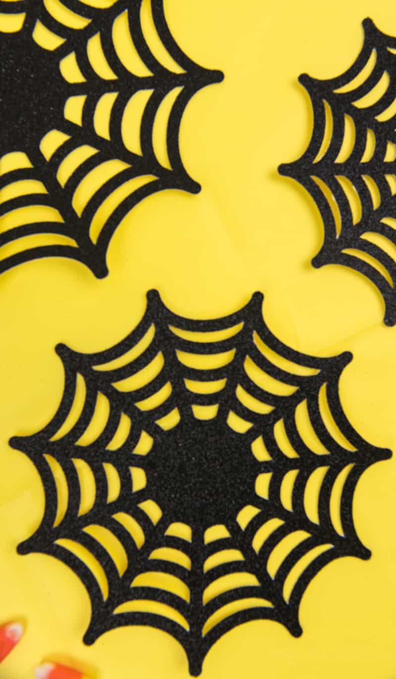 Paper Spider Webs