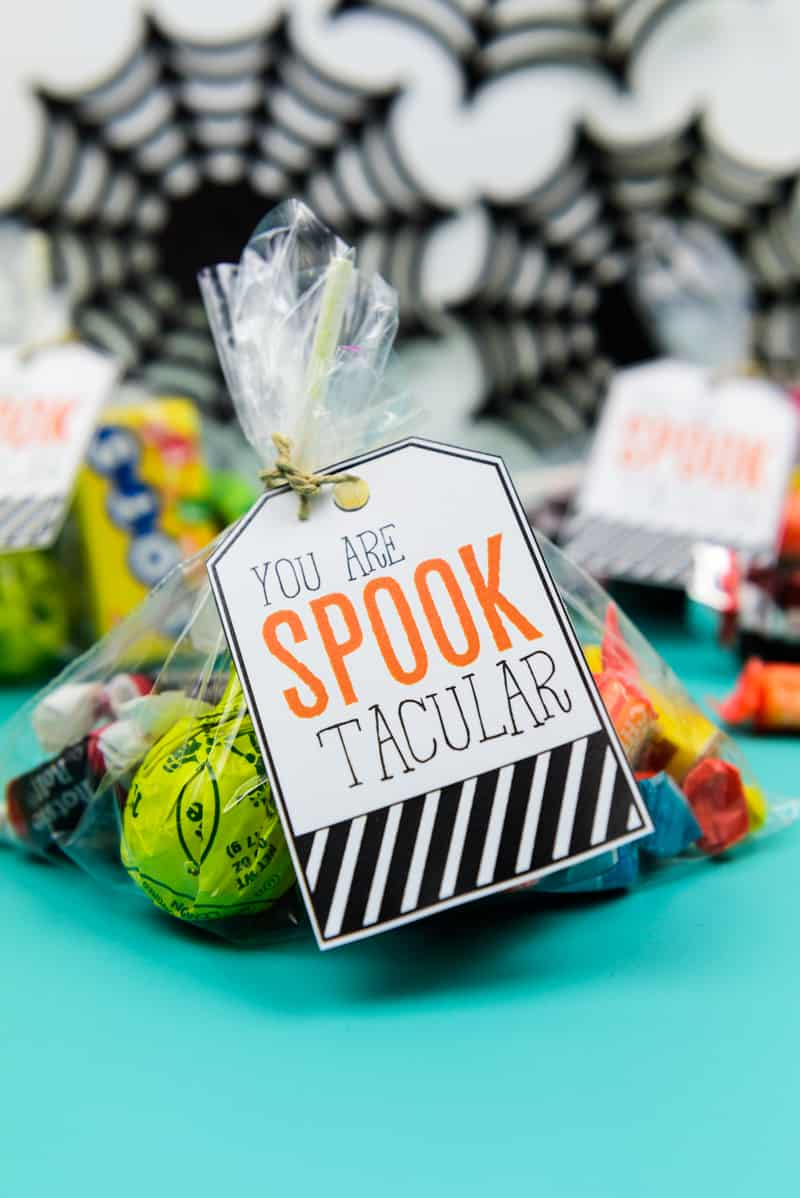 Print and Cut Halloween Gift Tags