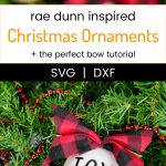 Rae Dunn Christmas Ornaments