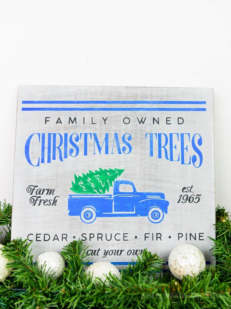 christmas tree truck sign i am so obsessed with the christmas tree truck decor and