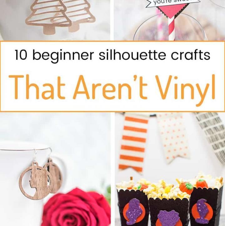 10 Beginner Silhouette Crafts That Aren't Vinyl