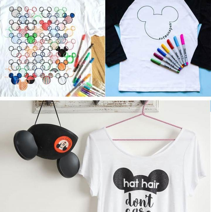 16 Disney Shirts to Make with Your Silhouette