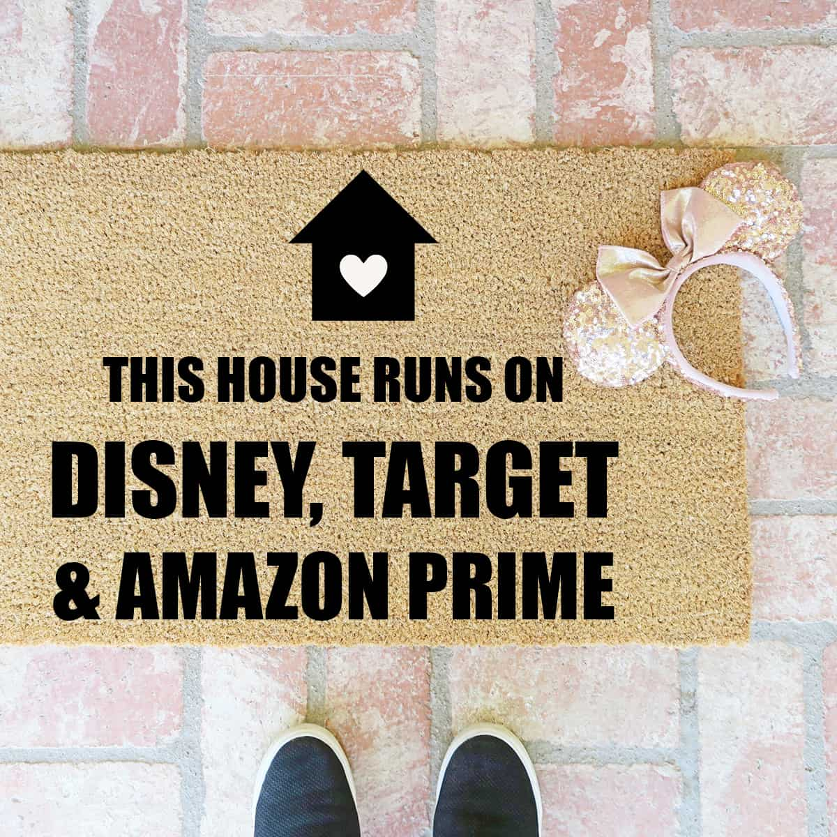 How to Make a Hand Painted Doormat Tutorial