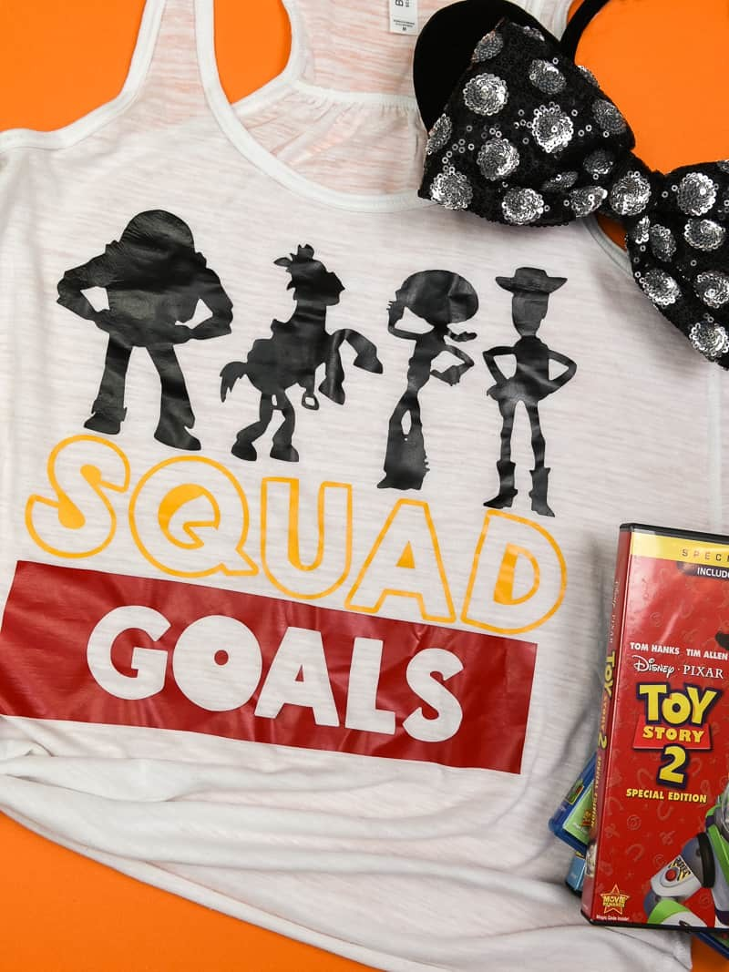 Easy Squad Goals Toy Story Shirt - Simply Made Fun