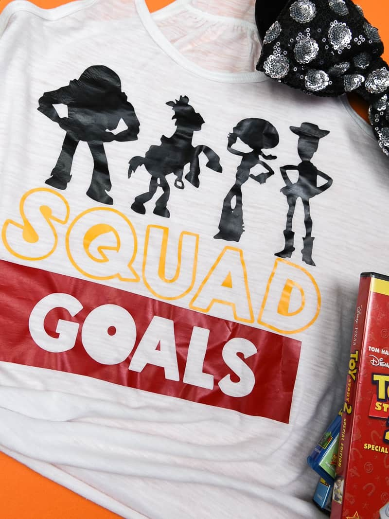 Easy Squad Goals Toy Story Shirt Simply Made Fun