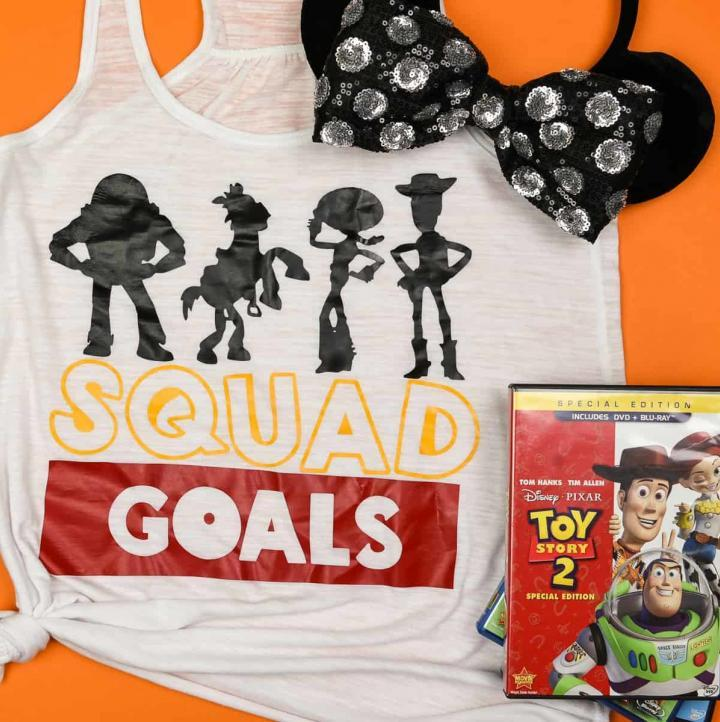Easy Squad Goals Toy Story Shirt