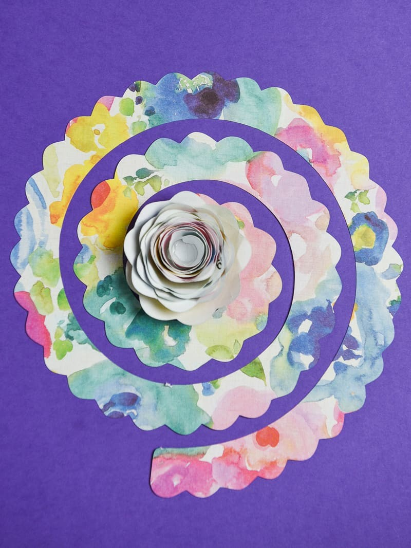 3 Ways To Make 3d Paper Flowers With Your Silhouette Simply Made Fun
