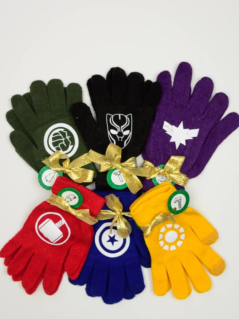 Avengers Winter Gloves Stocking Stuffer Idea