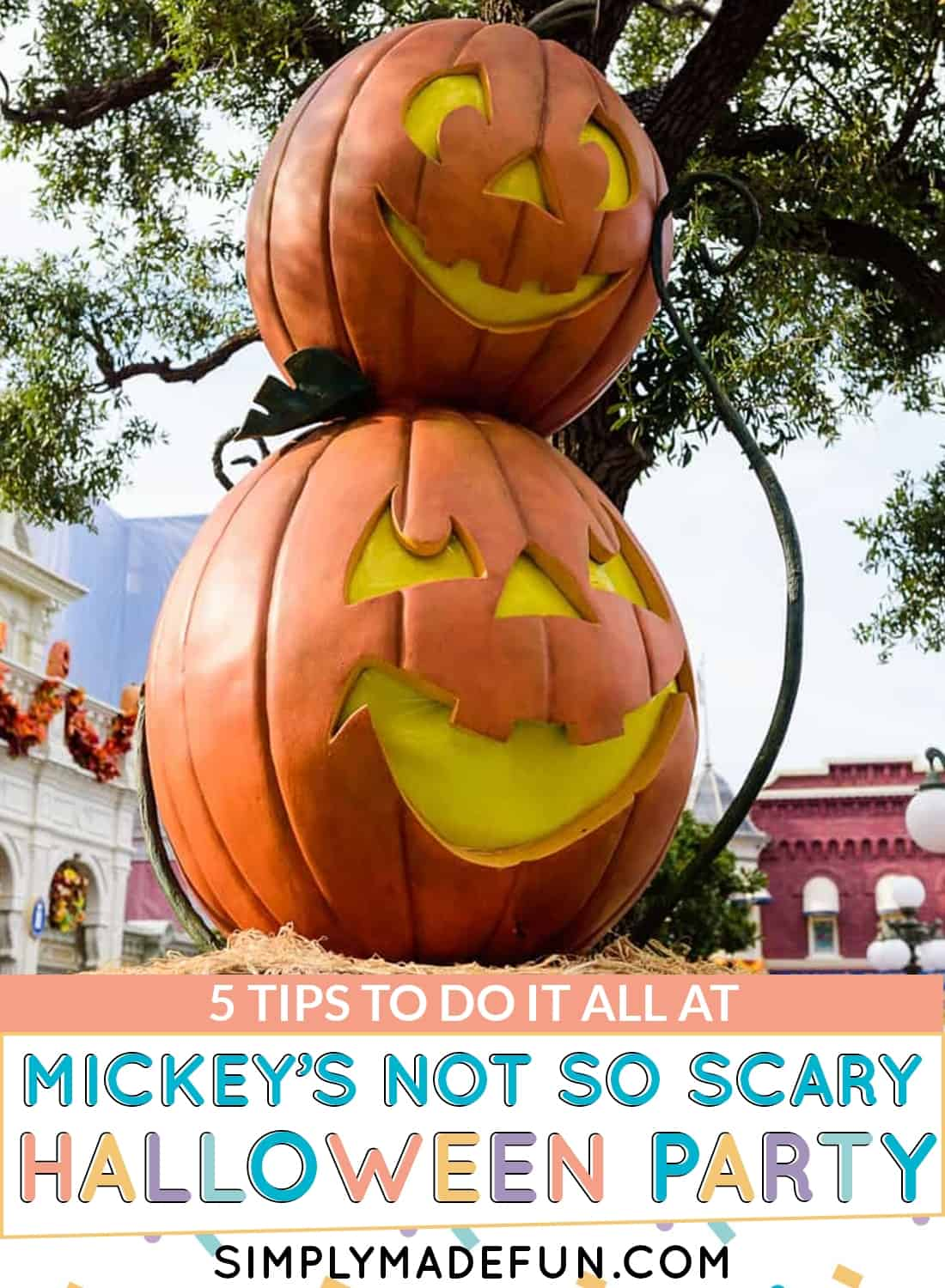 do it all at mickey's not so scary halloween party at walt disney world