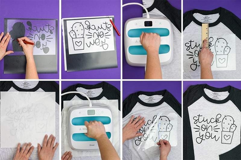How To Use Heat Transfer Vinyl On Shirts Simply Made Fun