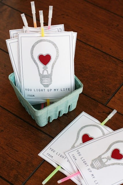 Valentines using the double-sided adhesive from Silhouette