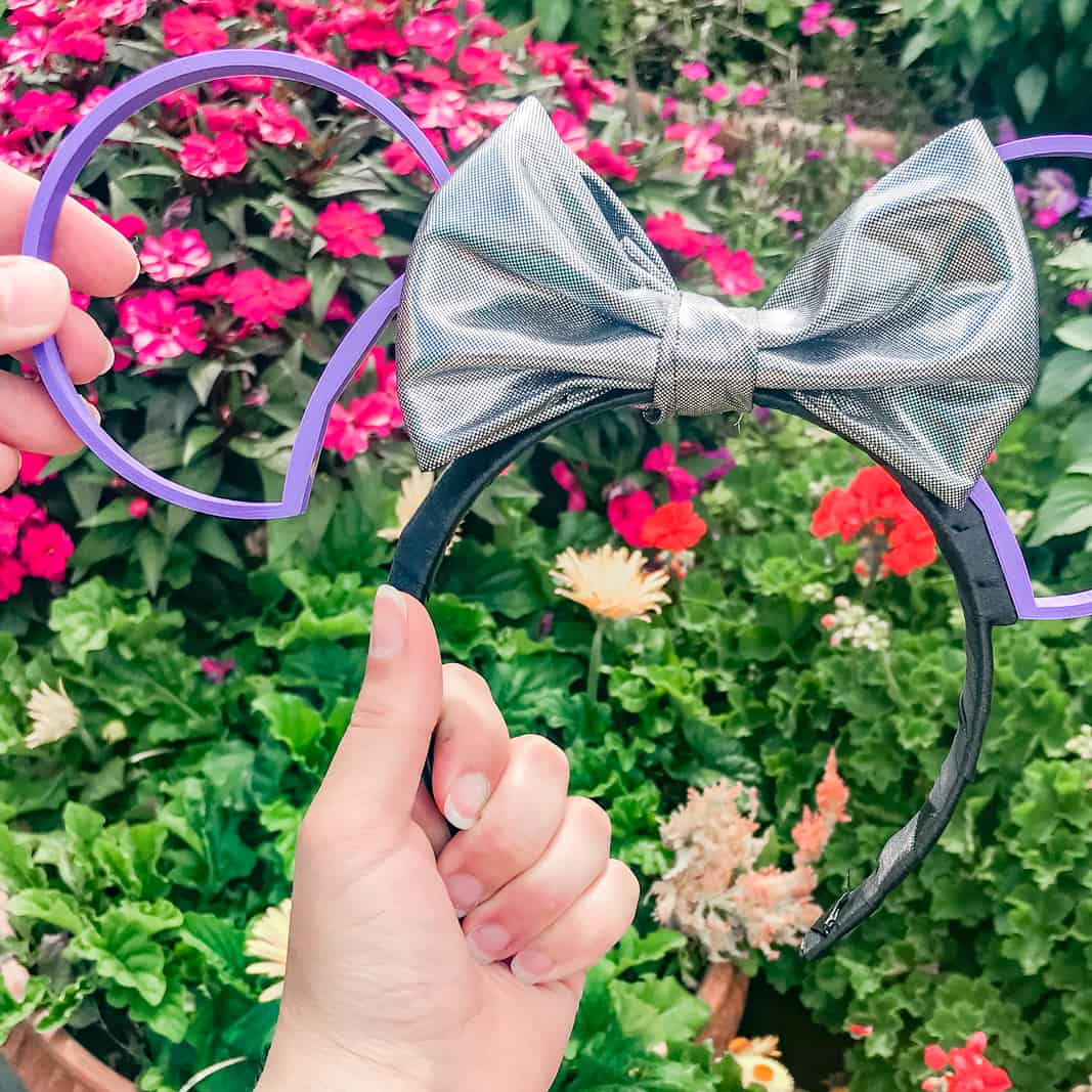 DIY 3D Printed Interchangeable Mickey Ears