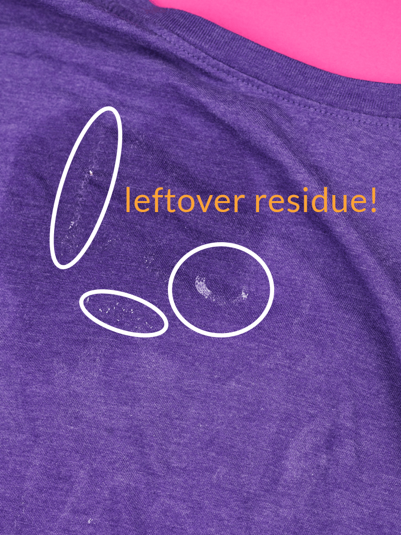 Remove heat transfer vinyl with Letting Removing Solvent