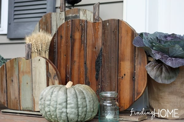 Fall Decorating - DIY Reclaimed Wood Pumpkins