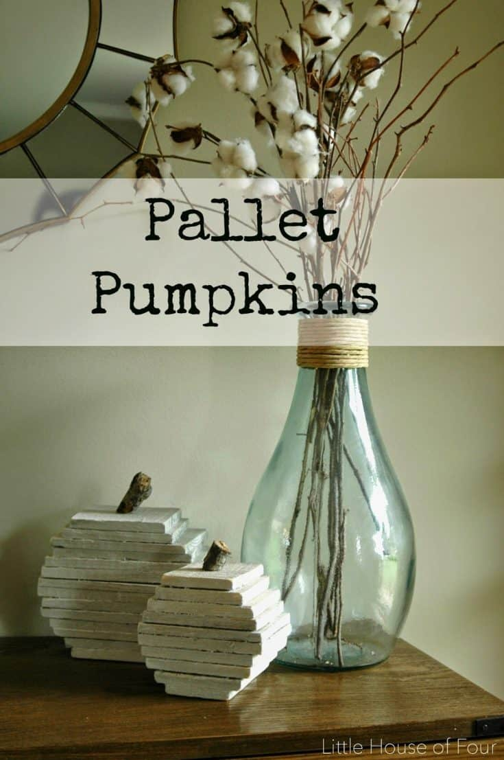 How to Make the Perfect Pallet Pumpkins
