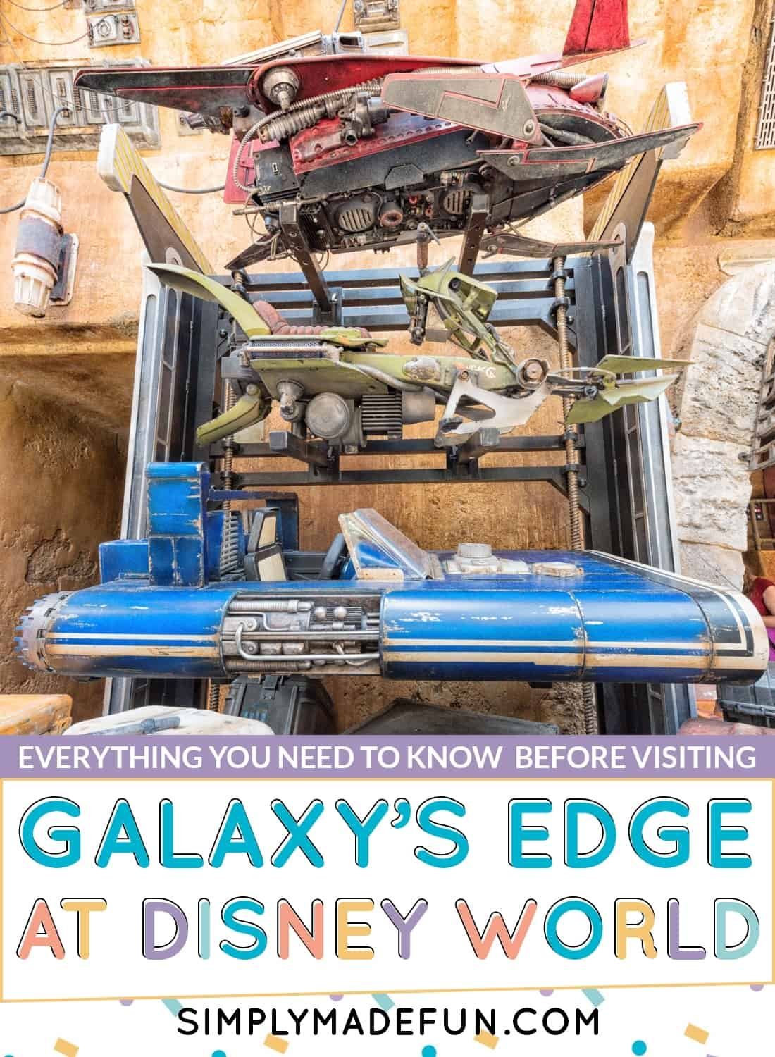 Star Wars Galaxy's Edge at Disney World