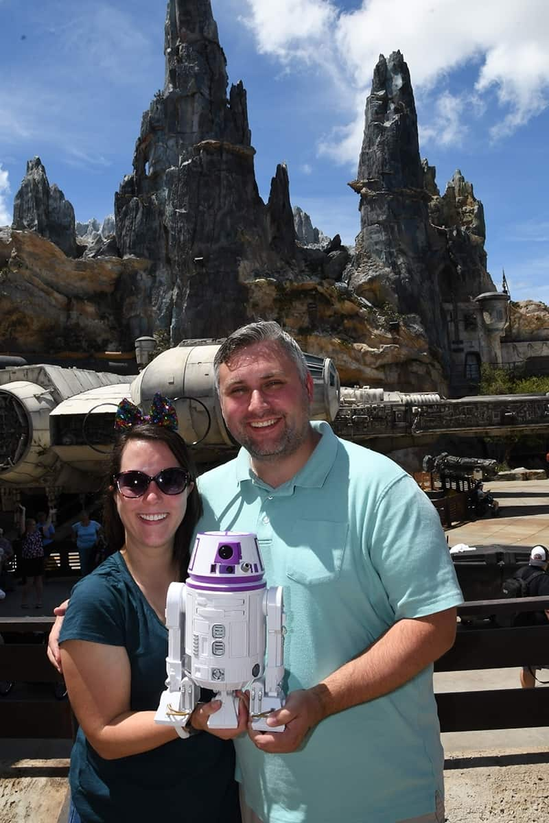 Build your own droid at Star Wars Galaxy's Edge at Disney World