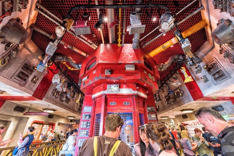 Build your own droid at Droid Depot in Star Wars Galaxy's Edge at Disney World