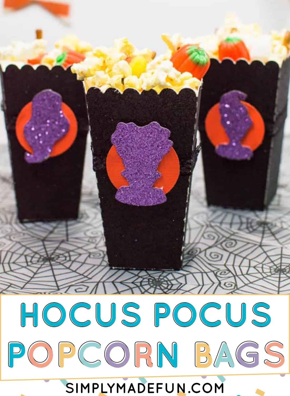 Hocus Pocus Halloween Popcorn Bags