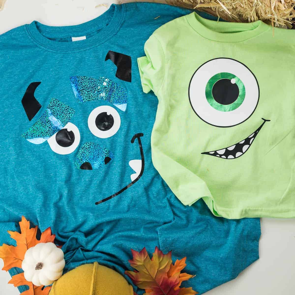 DIY Monsters Inc Family Costumes with Vinyl