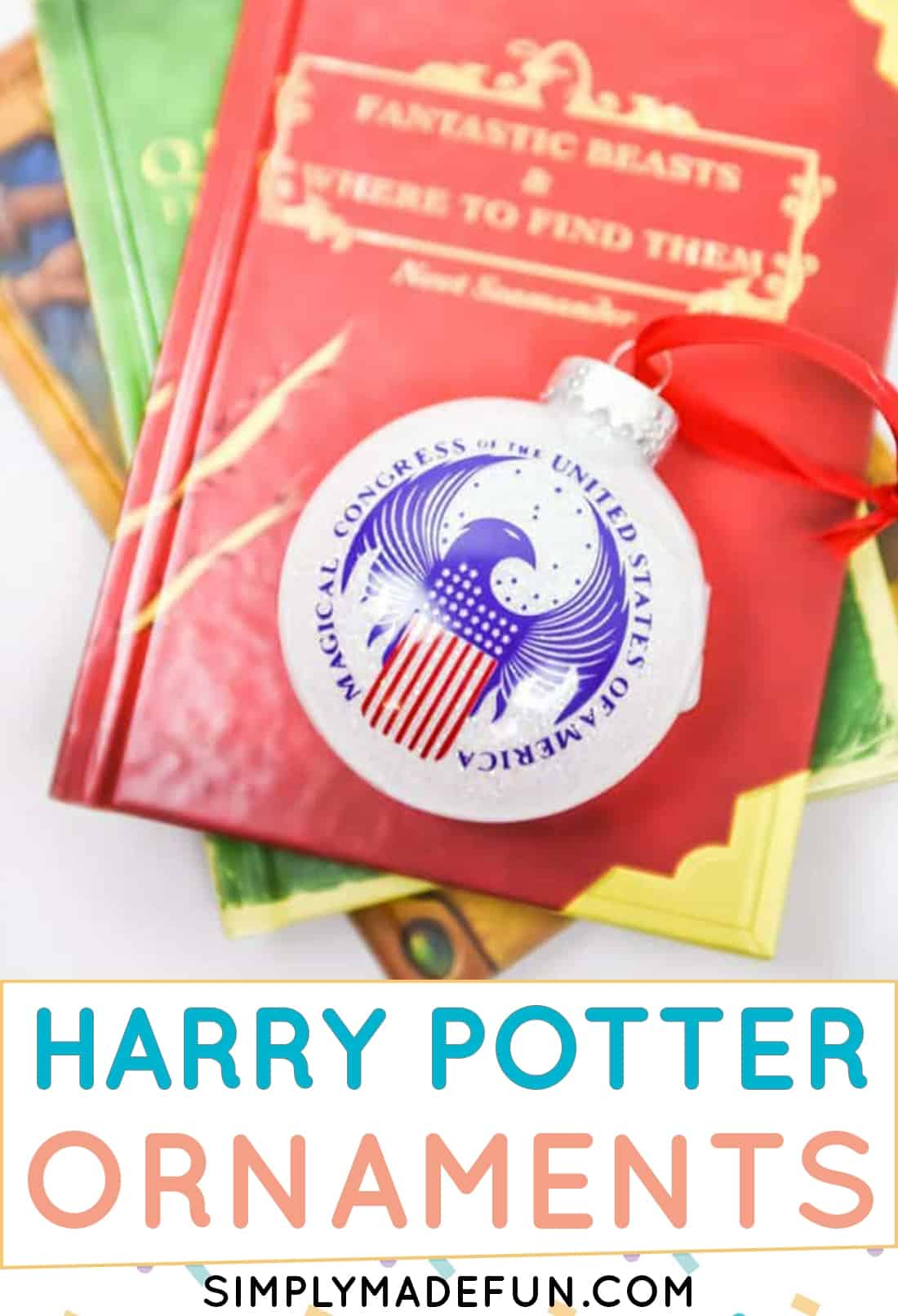 Harry Potter Ministry of Magic Christmas Ornaments