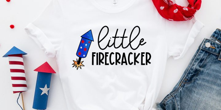 4th of July Firecracker SVG