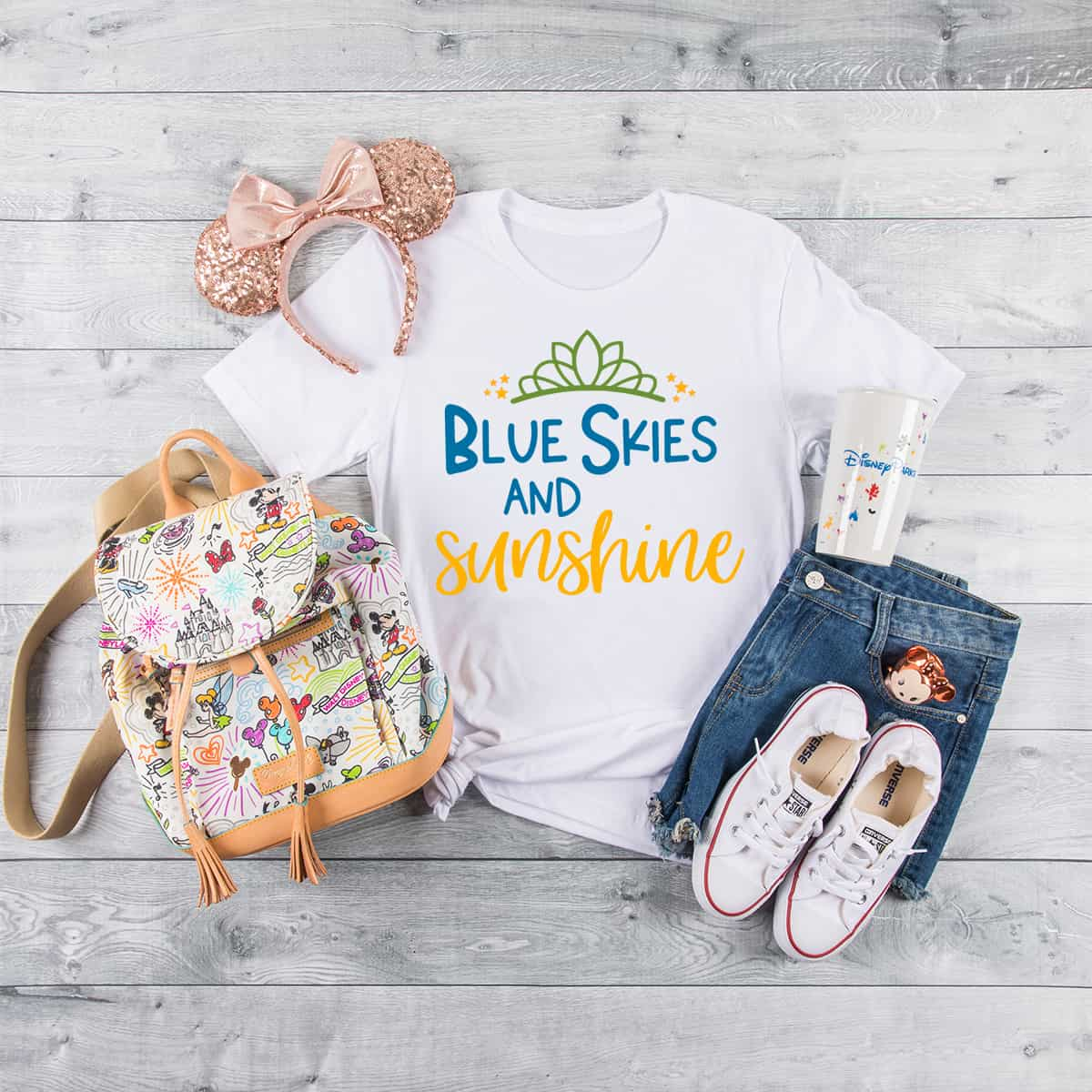 Blue Skies and Sunshine Summer SVG FILE
