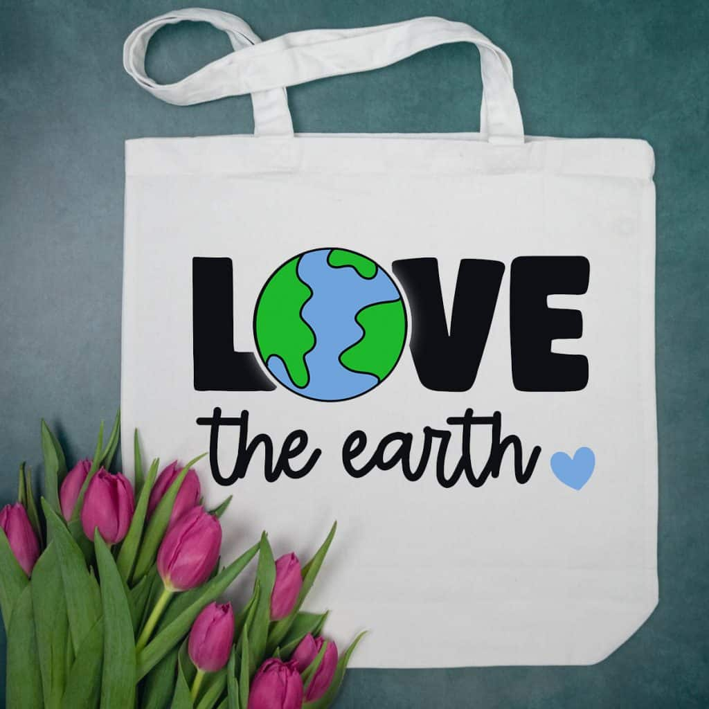 Love the Earth Tote Bag