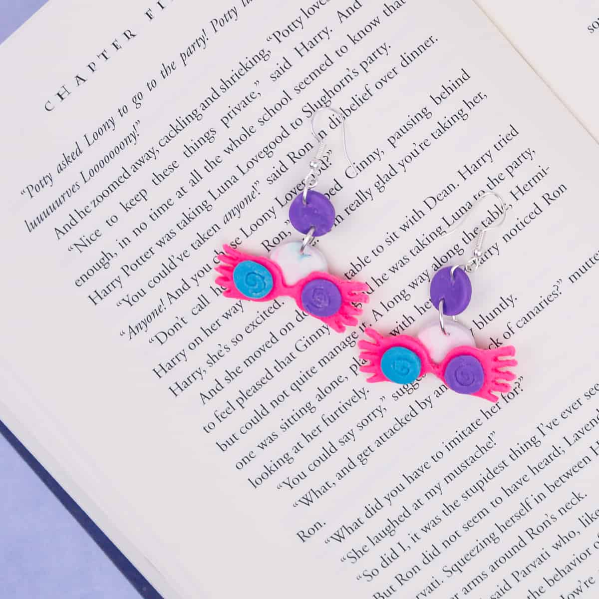 Harry Potter Polymer Clay Earrings
