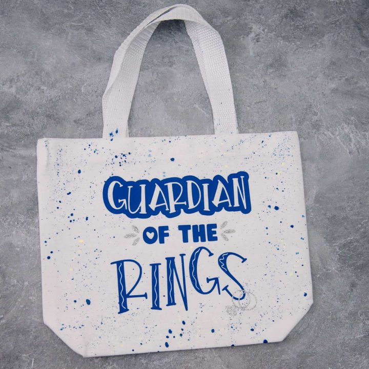 Guarding of the Rings Wedding Tote Bag